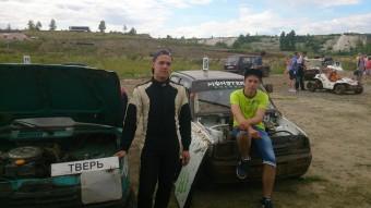 Александр Аксентьев и Глеб Толстых
