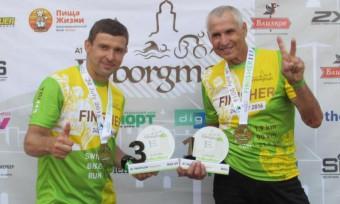 Андрей Сальников и Анатолий Афоненко