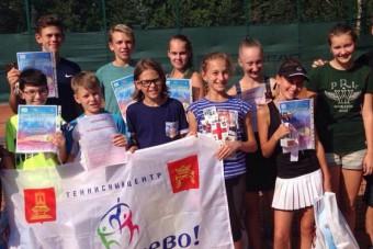 Тверские теннисисты на Кубке Петропавловской крепости
