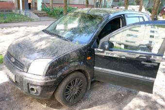 поврежденный форд