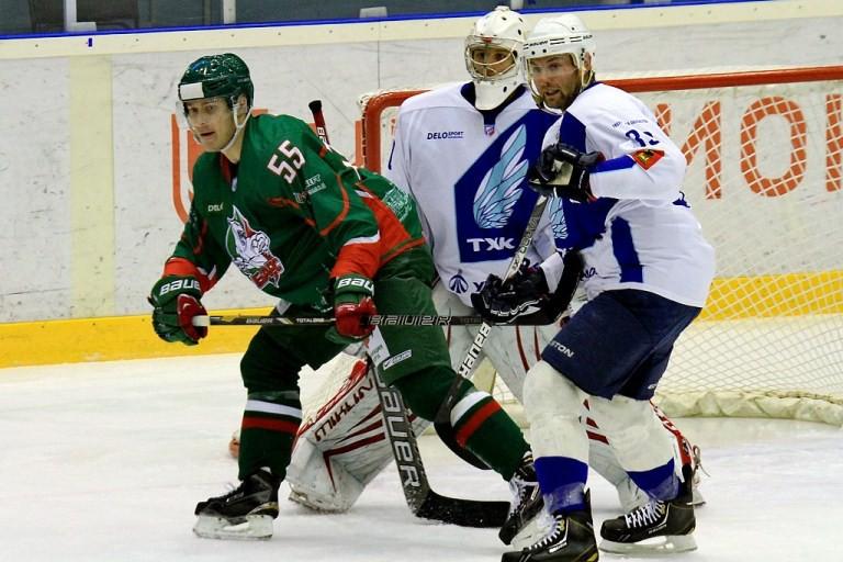 Тверские хоккеисты вматче сказанским «Барсом» одержали уверенную победу