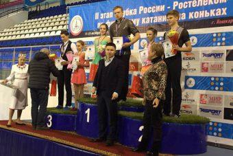 Екатерина Борисова и Дмитрий Сопот - победители 2-го этапа Кубка России