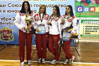 Команда ТвГТУ - победитель Спартакиады Союзного государства в Витебске