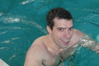 Максим Кашубо - победитель Открытого первенства Тверской области по плаванию среди ветеранов