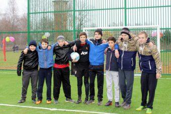 Мини-футбольное поле в селе Луковниково