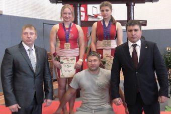 Тверские герои первенства Европы по сумо. Алена Петрова и Альбина Смирнова