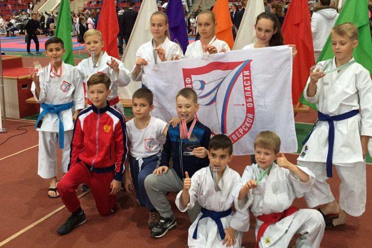 Тверские каратисты привезли с интернационального турнира девять наград