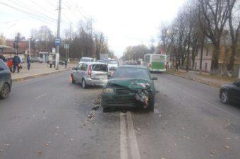 ДТП на Петербургском шоссе в Твери