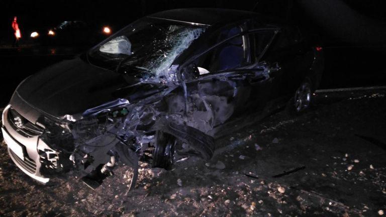 ВВышневолоцком районе иностранная машина столкнулась сфурой