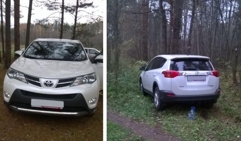 ВТверской области натрассе задержали угнанный автомобиль