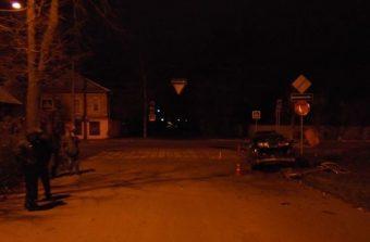 ДТП на улице Брагина в Твери