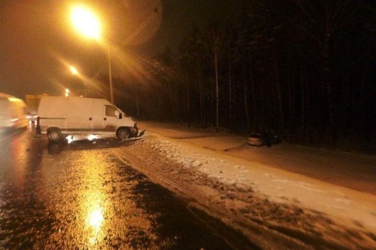 ВКалининском районе случилось тройное ДТП