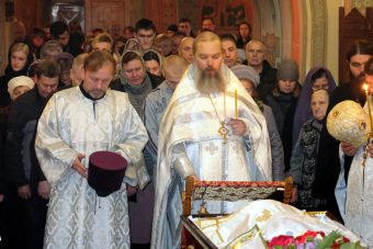 Прощание с Димитрием Куликовым