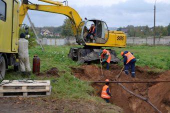 «Росводоканал Тверь» ремонтирует водовод на Тверецком водозаборе
