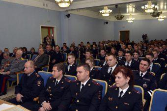 Тверская полиция принимает поздравления с Днем сотрудника органов внутренних дел
