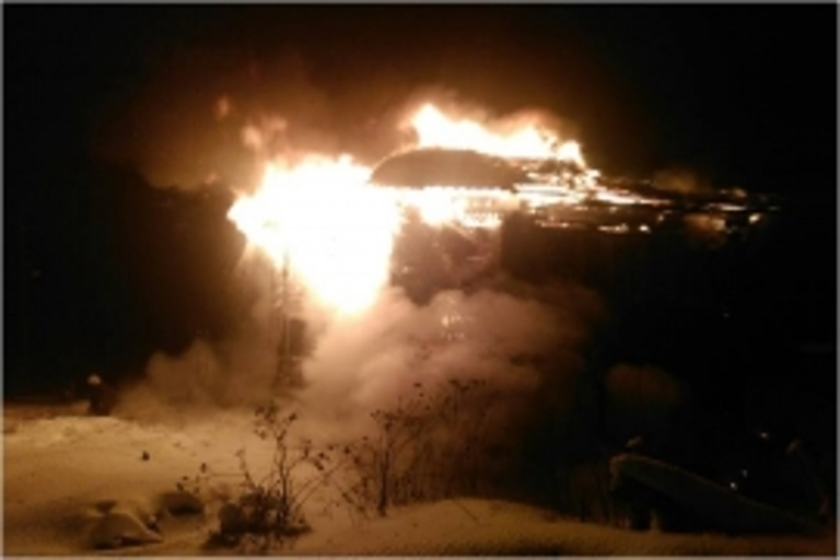 ВТверской области пожарные спасли 54-летнего мужчину