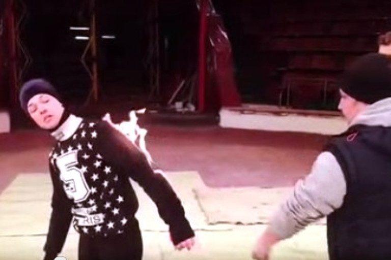 Тверской цирк стал местом съемок нового клипа Сергея Шнурова