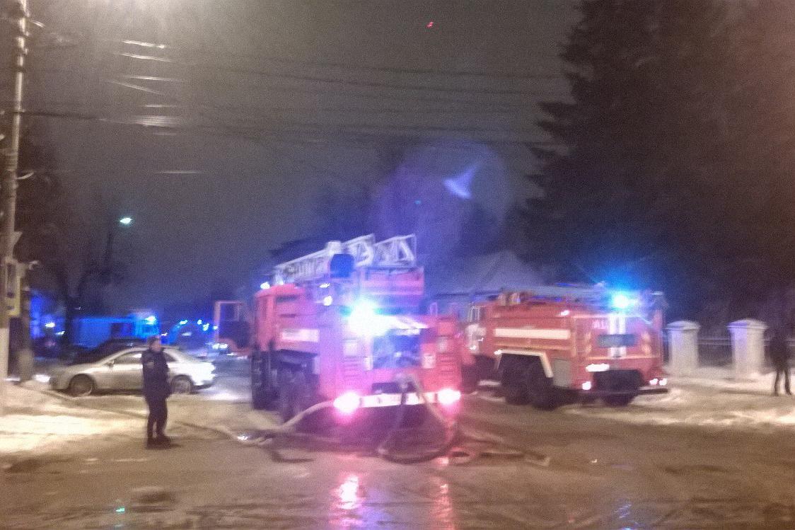 Вцентре Твери произошло возгорание водном изразвлекательных клубов