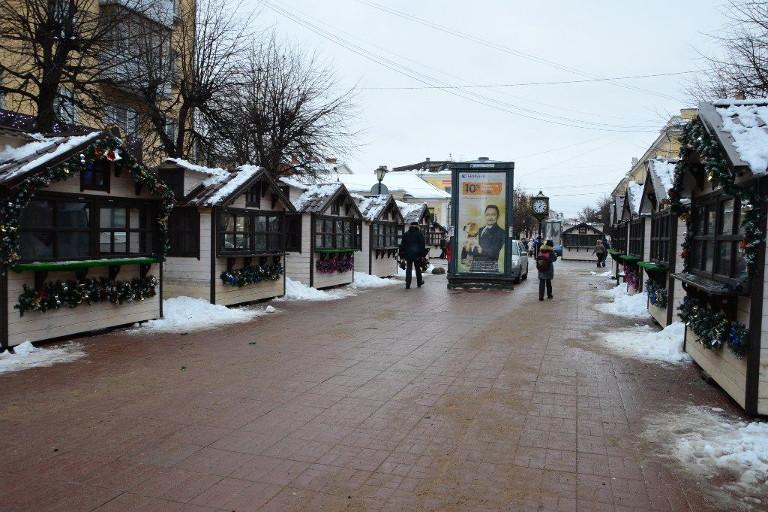 «Рождественская ярмарка» перекроет бульвар Радищева вТвери