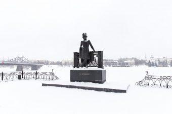 тверь, снег, зима