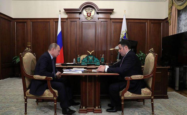 Губернатор Тверской области связал смертность сремонтом дорог врегионе