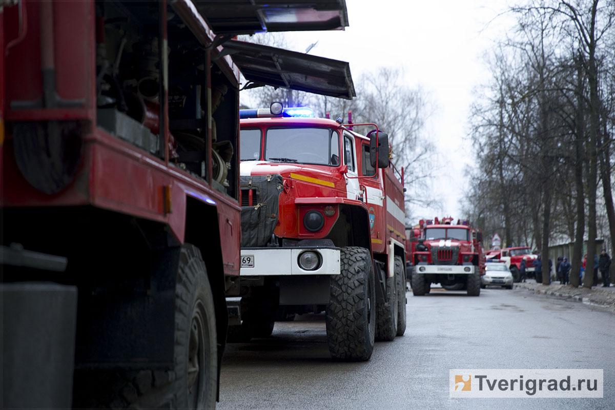 В Старицком районе после пожара в дачном доме нашли тело погибшего