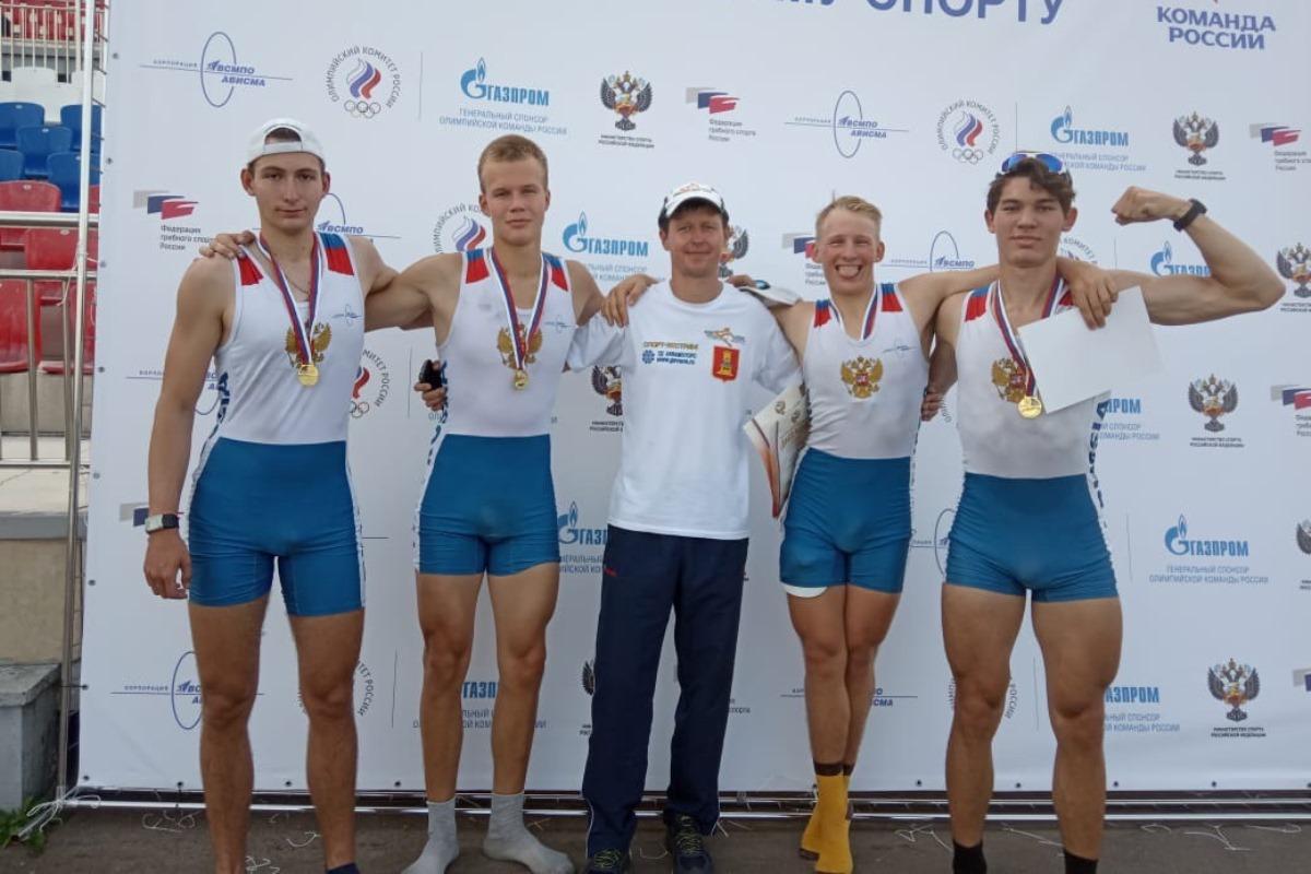 Тверские гребцы-академики стали победителями первенства России
