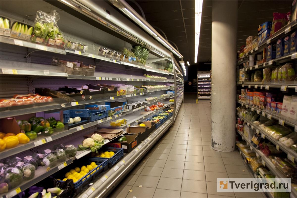 Тверская область вошла в число лидеров по росту цен на продукты питания
