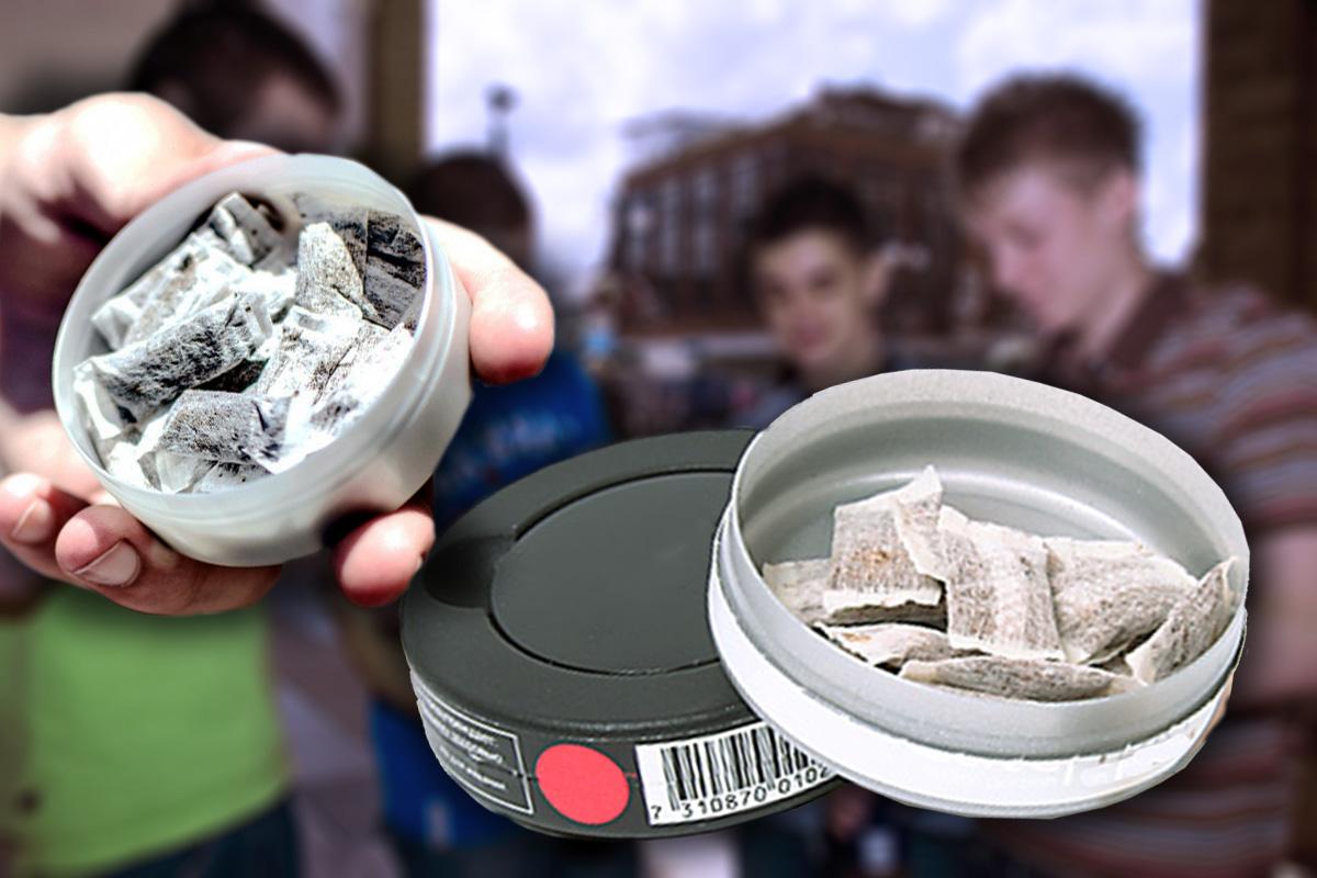 В России могут запретить продажу снюса несовершеннолетним