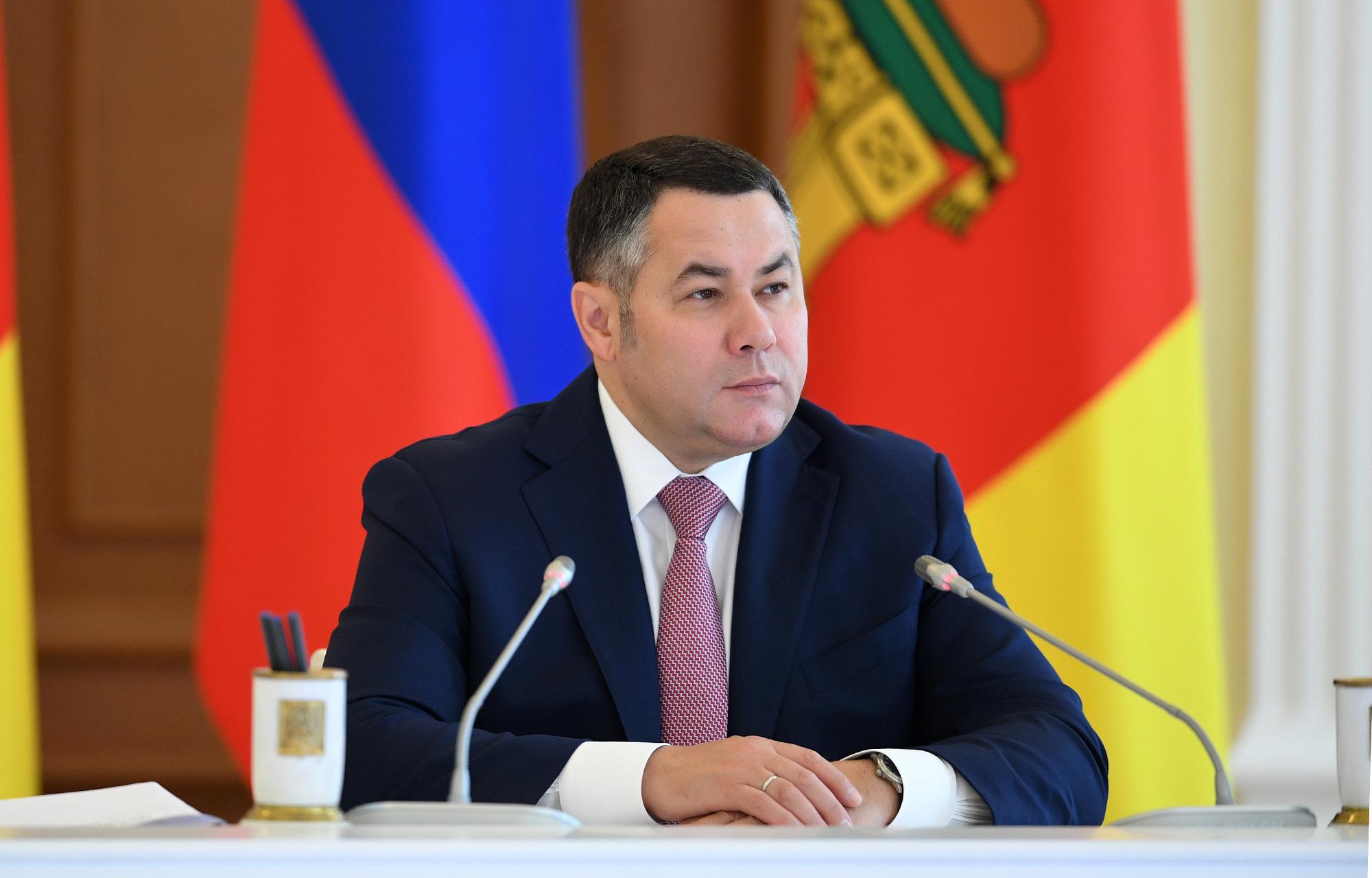 Игорь Руденя занял 2-е место среди губернаторов ЦФО по качеству ответов на обращения граждан