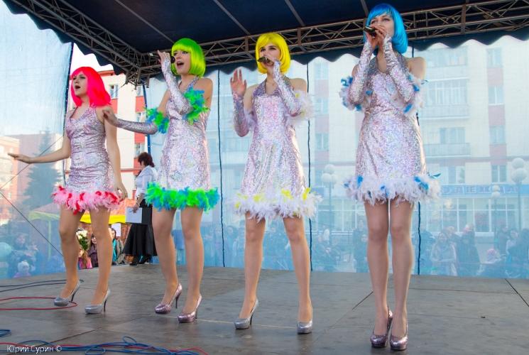 Открытие Фонтана на Комсомольской площади в Твери 2013