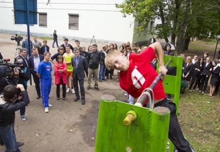 В Твери побывала Ирина Роднина