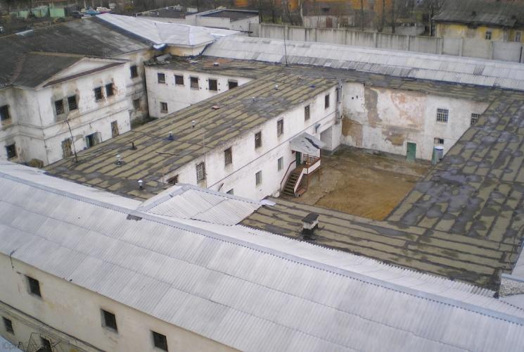 старый корпус СИЗО-1 ИЗ-69/1 Тверской централ