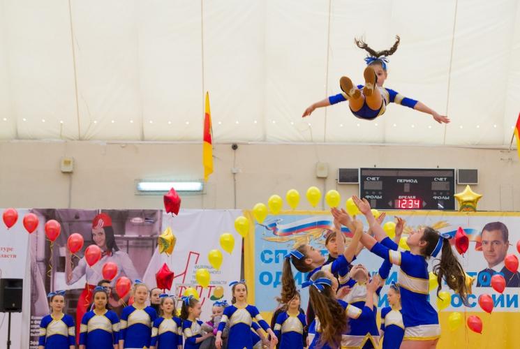 Открытый турнир города Твери по черлидингу 2013