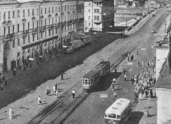 Кооперативный переулок (теперь - Тверской проспект)