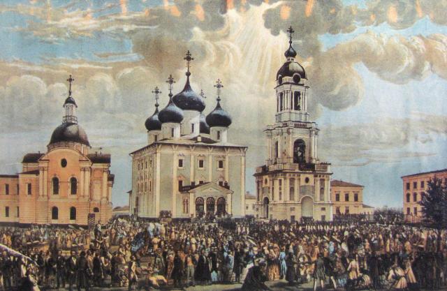 Спасо-Преображенский собор в Твери