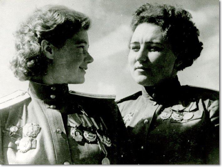 Мария Смирнова и Марина Раскова