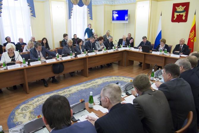 Заседание Тверской городской думы