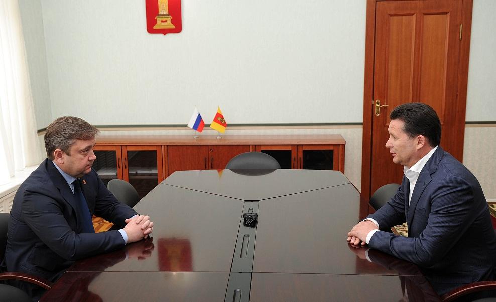 Встреча губернатора с Тимофеевым