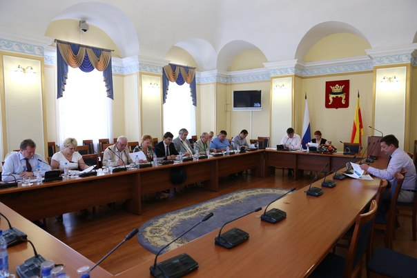 Заседание конкурсной комиссии ТГД