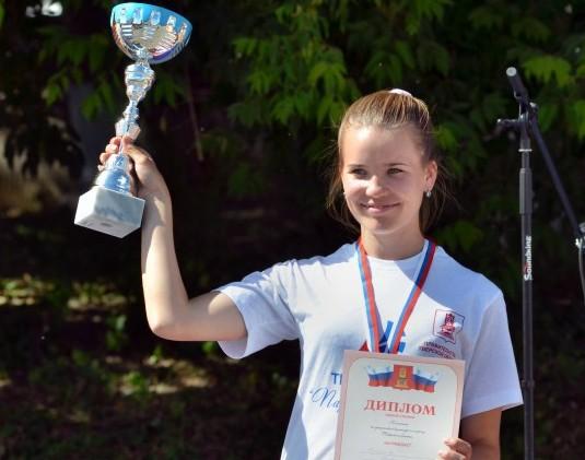 Юлия Михайлова - победительница первенства Тверской области по парусному спорту