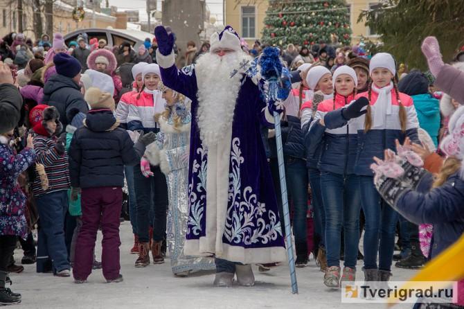 В Тверь приехал Дед мороз