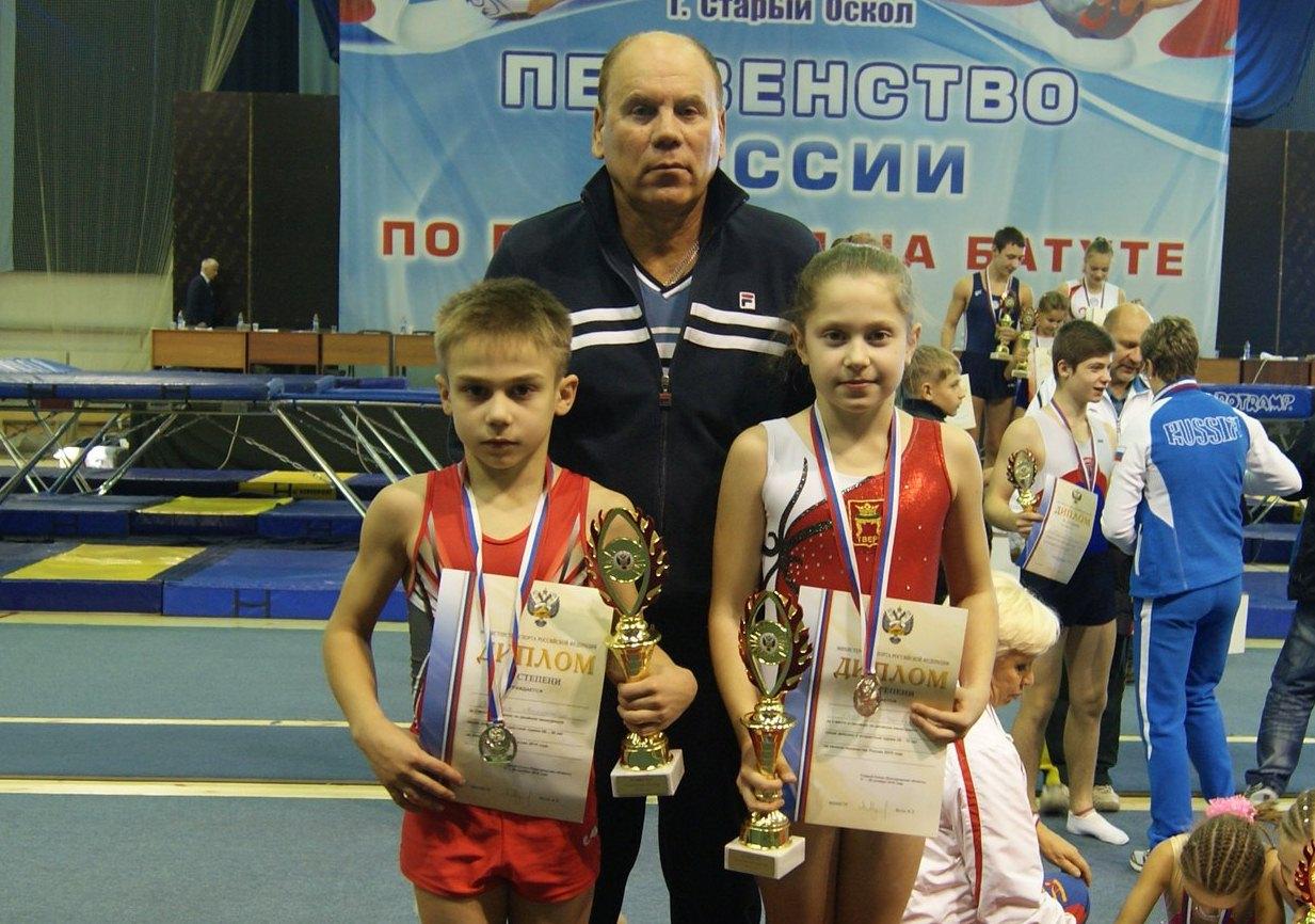 Владимир Оганесян и Светлана Скороход - призеры России