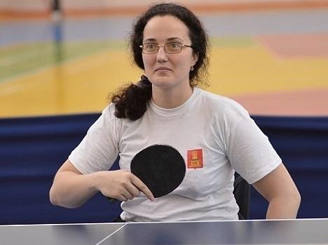 Юлия Карасева - победительница всероссийских соревнований по настольному теннису