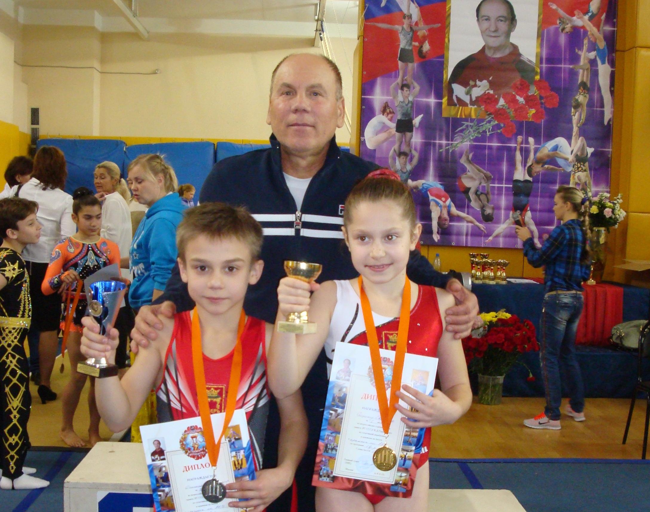 Владимир Оганесян, Виталий Лилин и Светлана Скороход