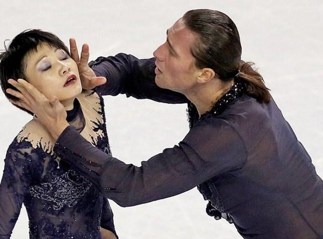 Юко Кавагути и Александр Смирнов- вице-чемпионы России