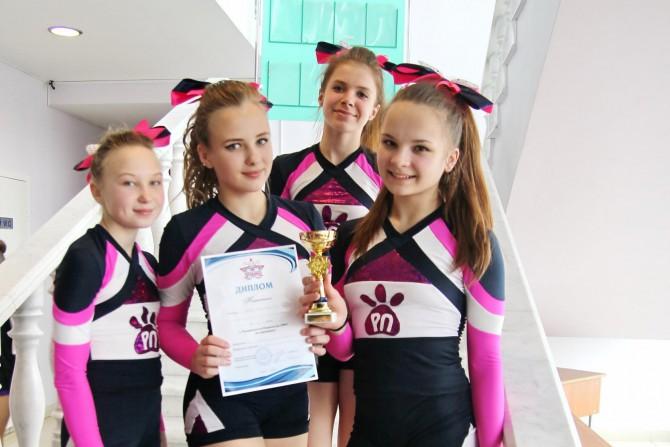 Розовые пантеры - чемпионки ЦФО