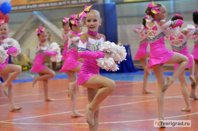 Чемпионат по чир спорту в Твери