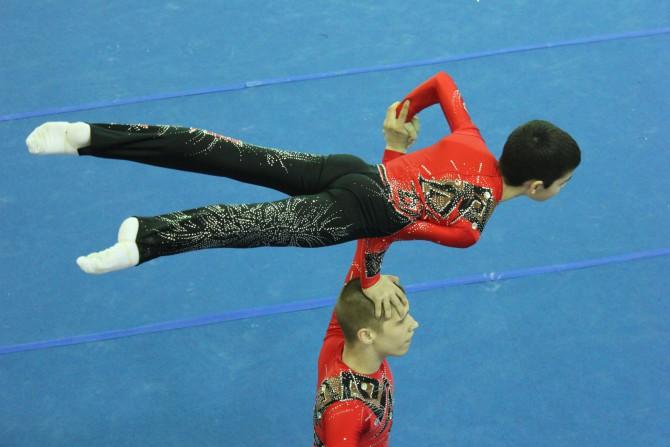Тверские акробаты завоевали 16 медалей Кубка Нечерноземья