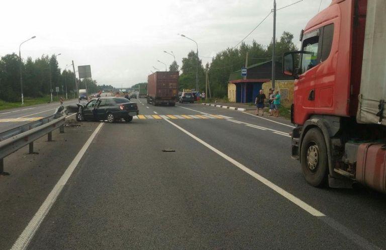 В Тверской области по вине пьяного водителя без прав в ДТП пострадал ребенок